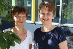 Anja Grün und Petra Neumann